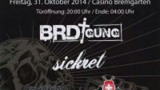 BRDigung am Deafening Festival am 31. Oktober 2014