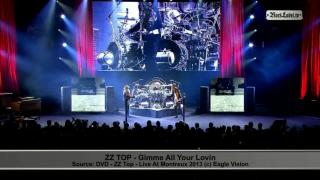 Concert video of ZZ Top live in Montreux 2013 on RockLabel...