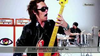 California Breed auf Tour und Videos auf RockLabel TV