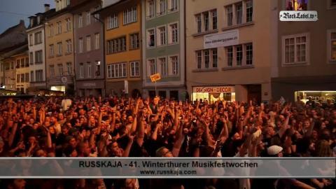 Russkaja - Traktor (live in Winterthur)