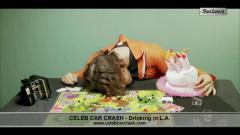 Celeb Car Crash - Drinking in L.A.