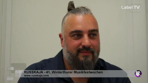 Russkaja - Interview in Winterthur (MFW 2016)